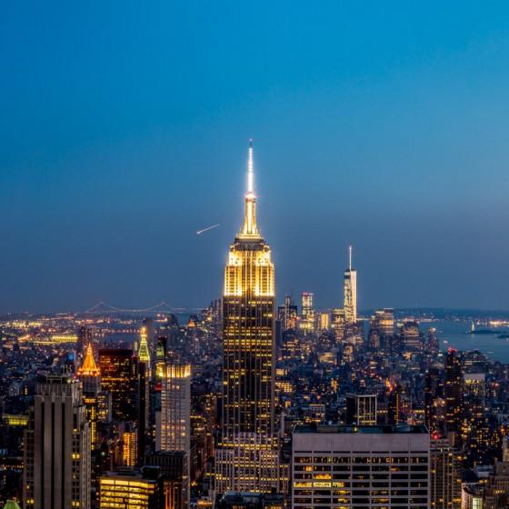 New York, vue du Top Of The Rock